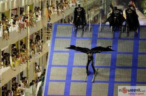 batman skiing