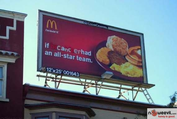 cancer billboard