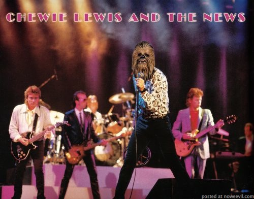 chewie lewis and the news