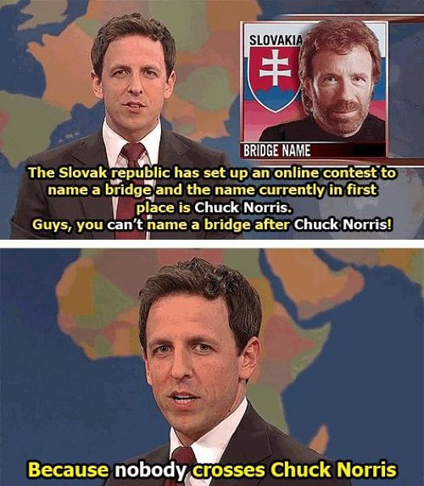 chuck norris bridge