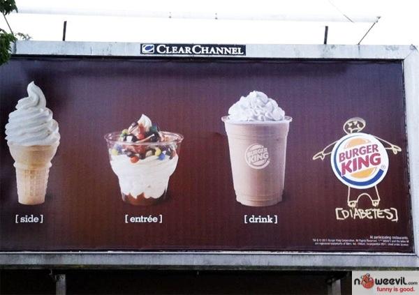 diabetes billboard