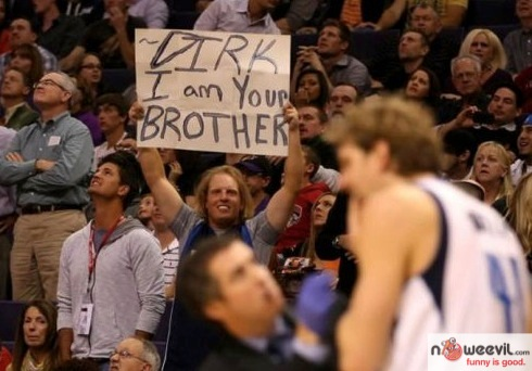 dirk im your brother sign