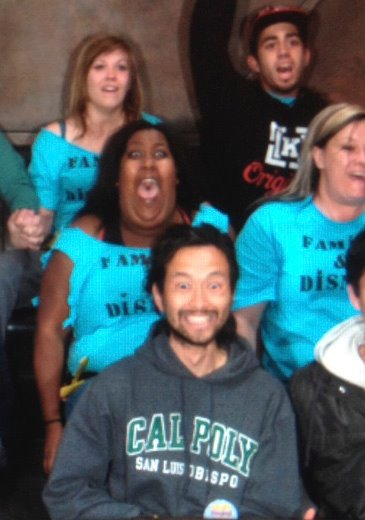 funny girl on coaster