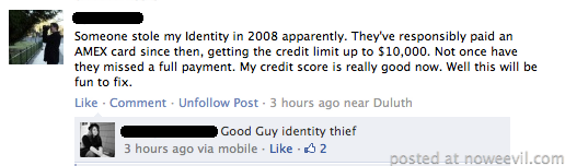 good guy identity thief