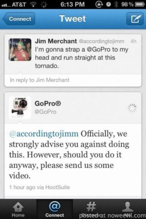 gopro tornado