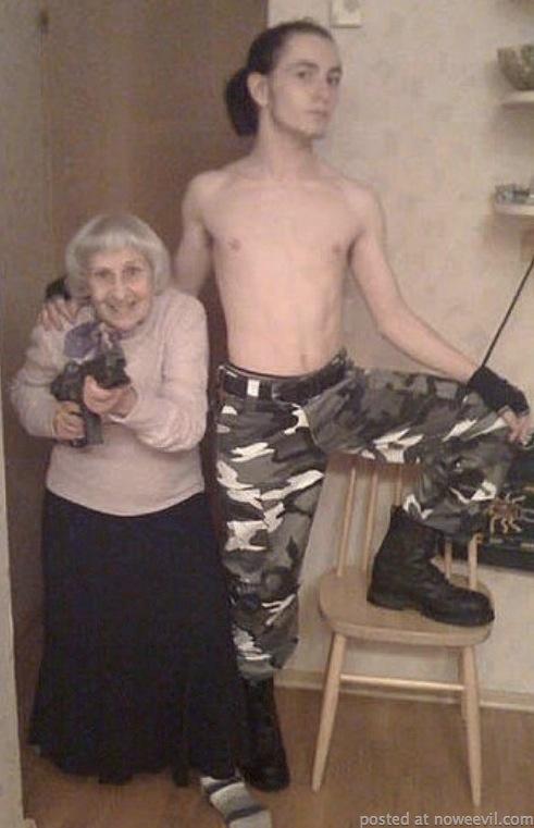 guy and grandma