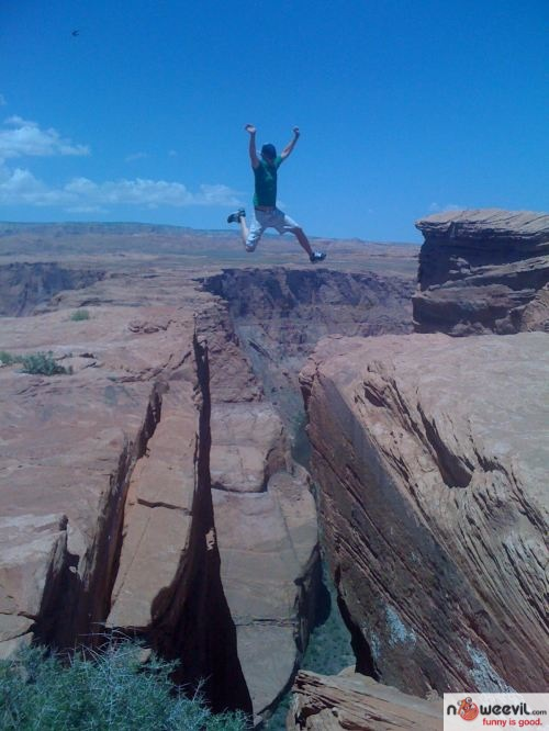jumping ledge