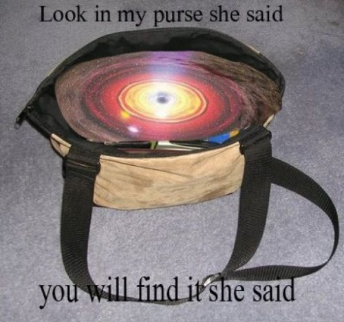 look in my purse