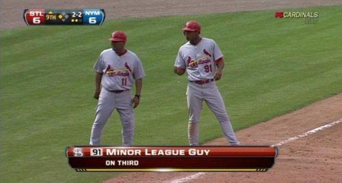minor league guy