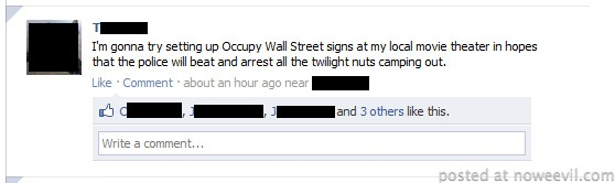 occupy twilight facebook post