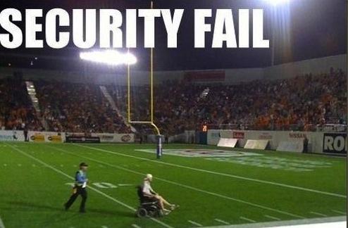 security fail