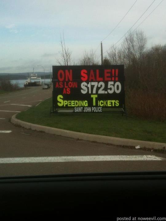 speeding tickets