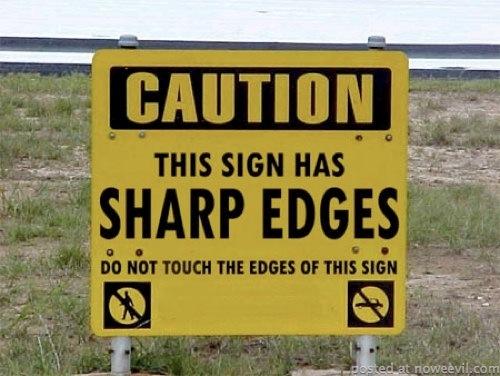 stupid sign 1