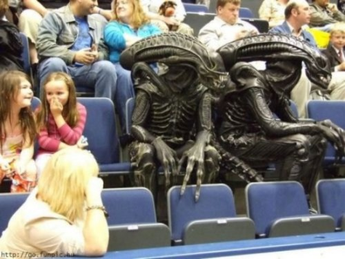 aliens at game