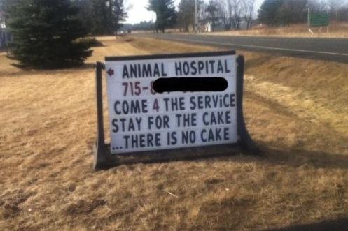 animal hospital sign