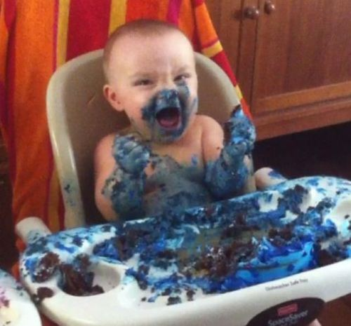 baby mess