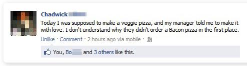 bacon pizza facebook