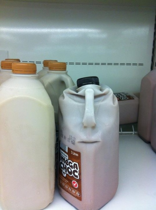 chocolate milk face