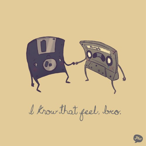 disc and cassette
