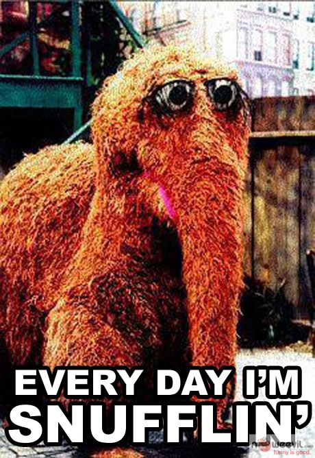 every day im snufflin