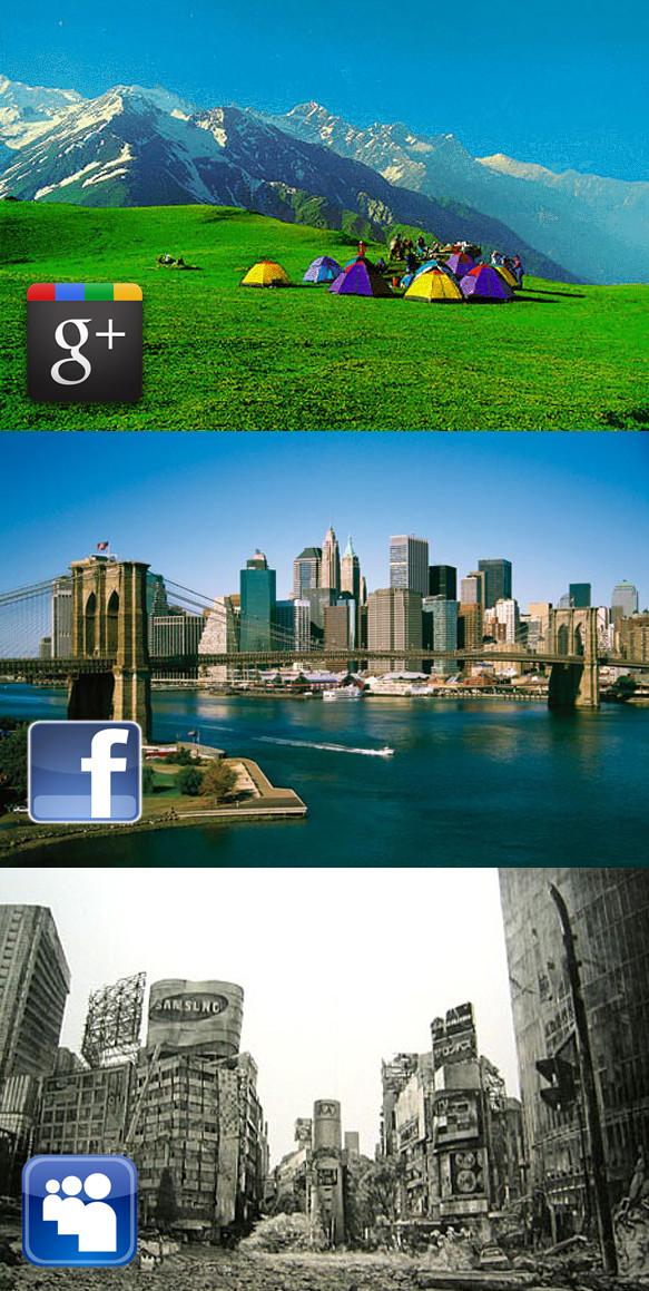 facebook vs plus