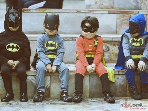 kids superheroes