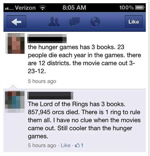 lotr facebook