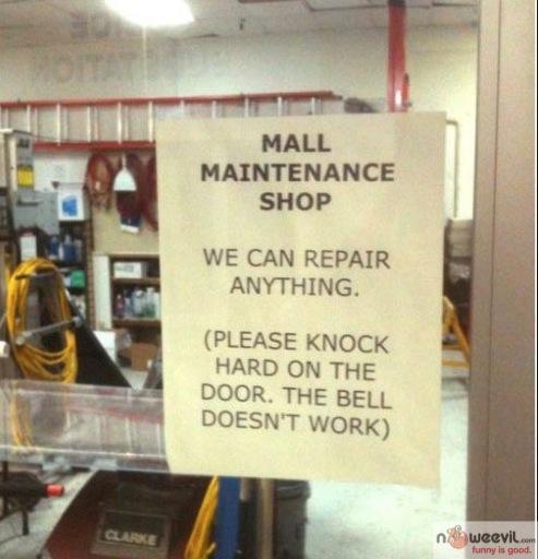 mall maintenance