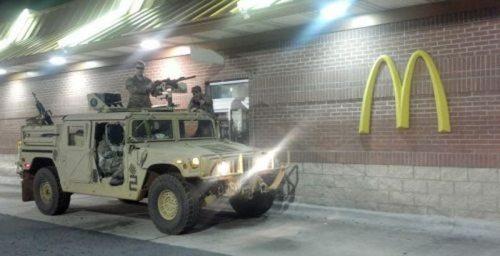 military mcdonalds