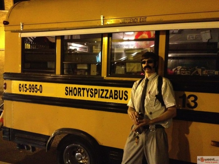 pizza bus