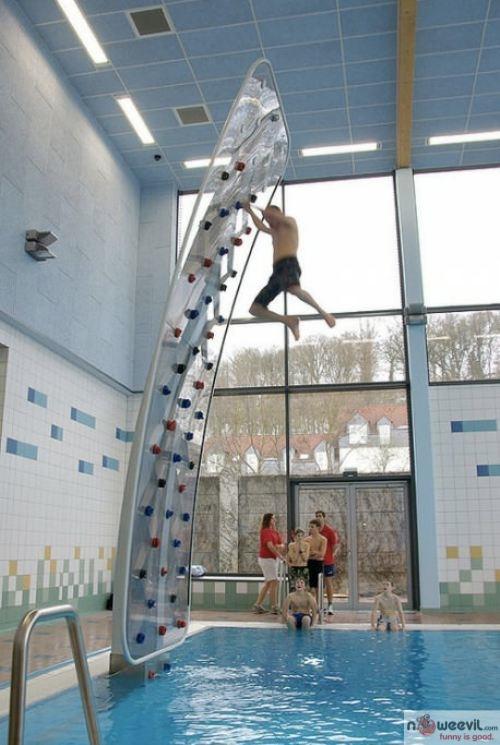 pool climber