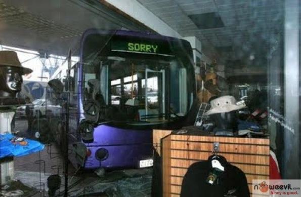 sorry bus crash