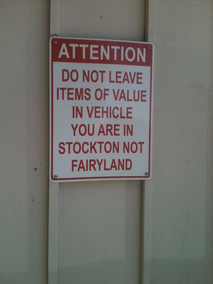 stockton sign