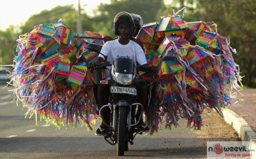 stuffed motorcycle