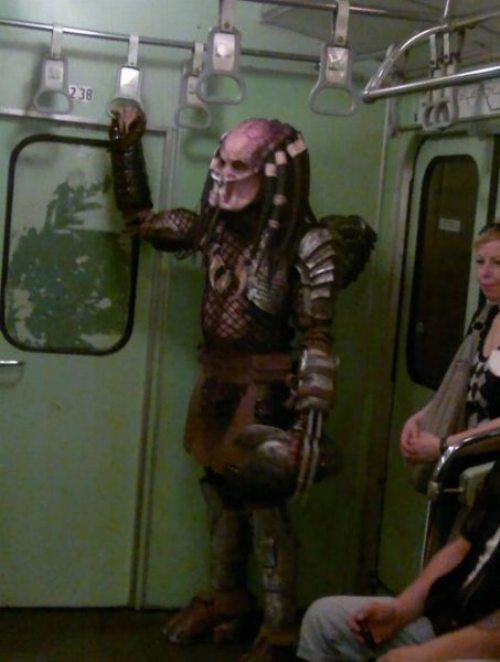 subway predator