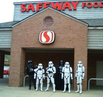 trooper at safeway