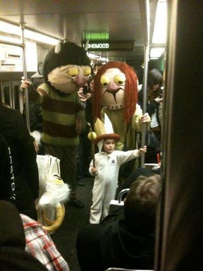 weird subway