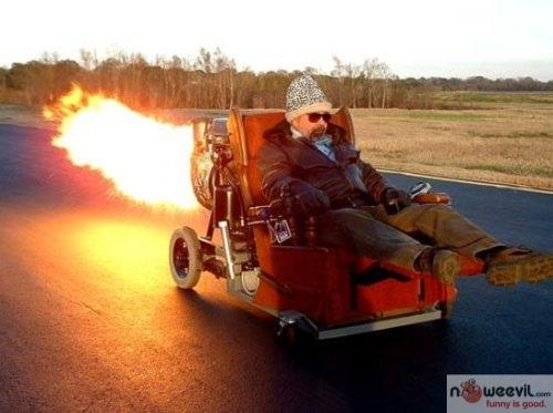 wheelchair rocket