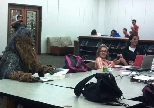 wookie in class