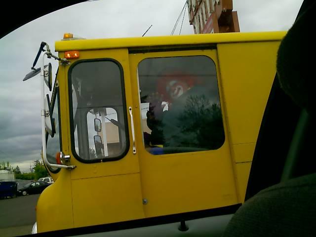 clown driver