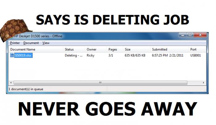 deleting