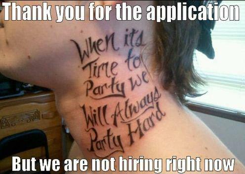 job repellant