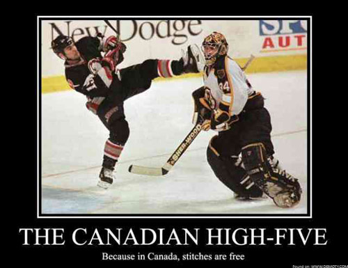 canadian high five