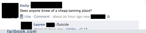 cheap tanning