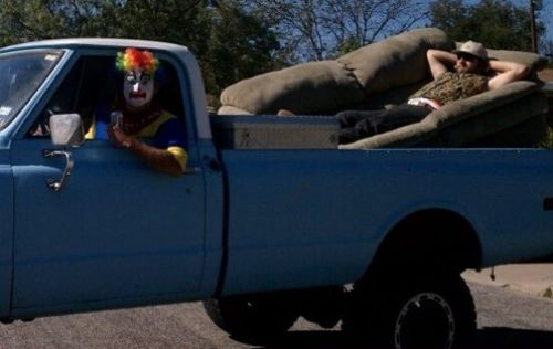 clown sofa