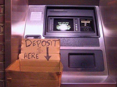 deposit here