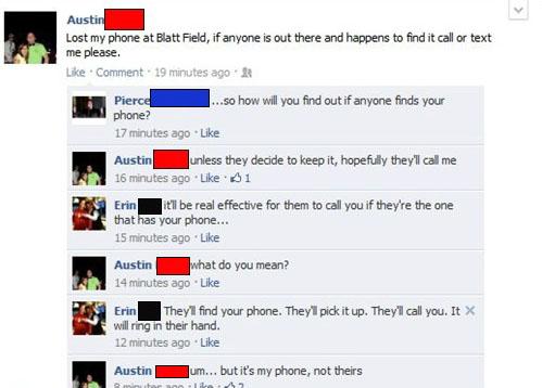 phone facebook